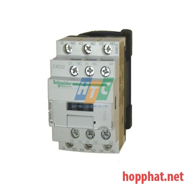 Rơ le Điều Khiển 3NO+2NC Coil 220Vdc- CAD326MD