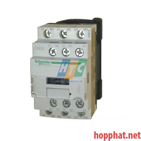 Rơ le Điều Khiển 3NO+2NC 10A 230VAC- CAD326P7