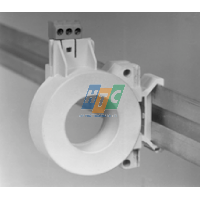 interposing ring CSH30 -Sepam series 20,60,40,80 - fixed on symmetrical DIN rail