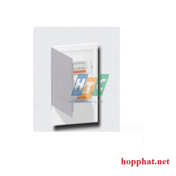 Tủ điện nhựa âm tường 4 modul cửa mờ