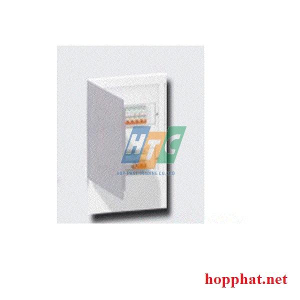 Tủ điện nhựa âm tường 8 modul cửa mờ