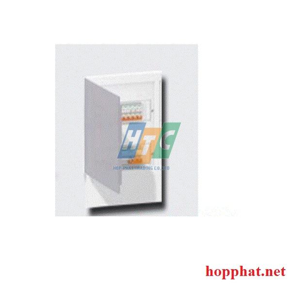 Tủ điện nhựa âm tường 12 modul cửa mờ