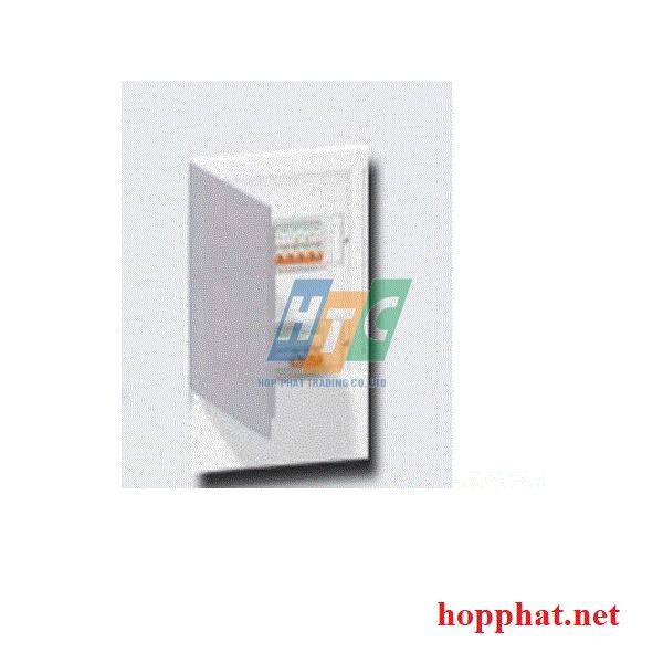 Tủ điện nhựa âm tường 24 modul cửa mờ
