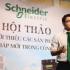 Schneider giới thiệu giải pháp và s.phẩm mới trong C.nghiệp